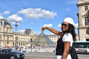 A Visit to the Louvre Museum in Paris