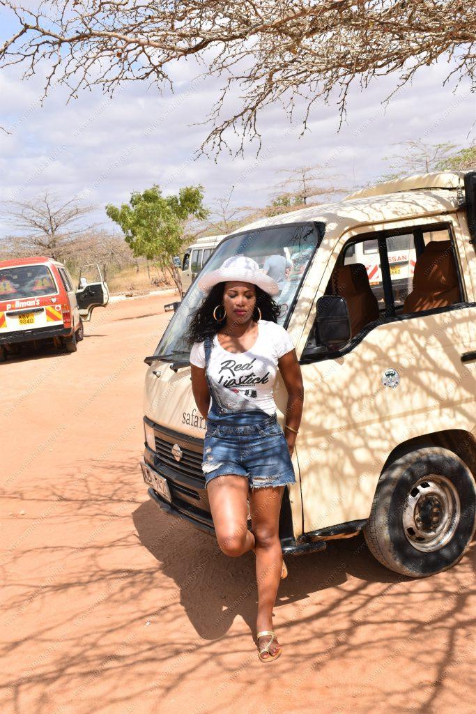 Safari Van In Kenya