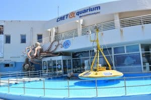 The Cretaquarium in Crete Island, Greece