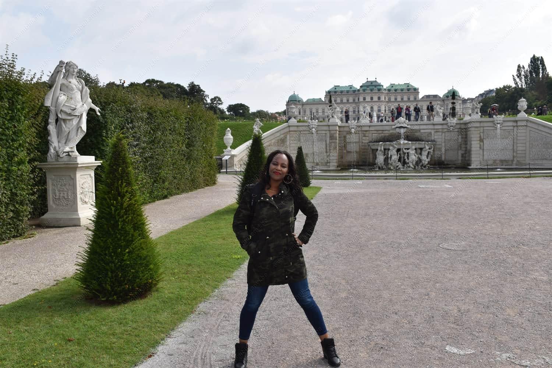 Belvedere Palace in Vienna Austria