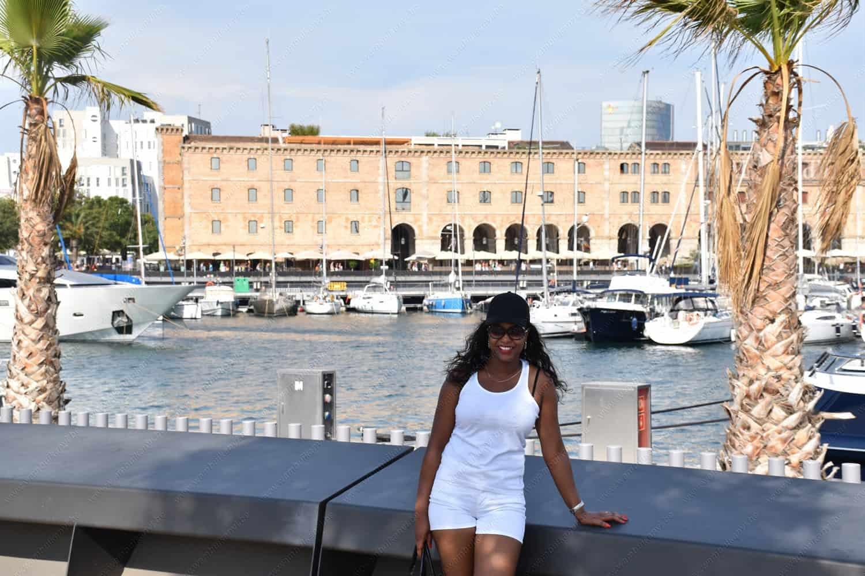 Marina Port Vell  in Barcelona