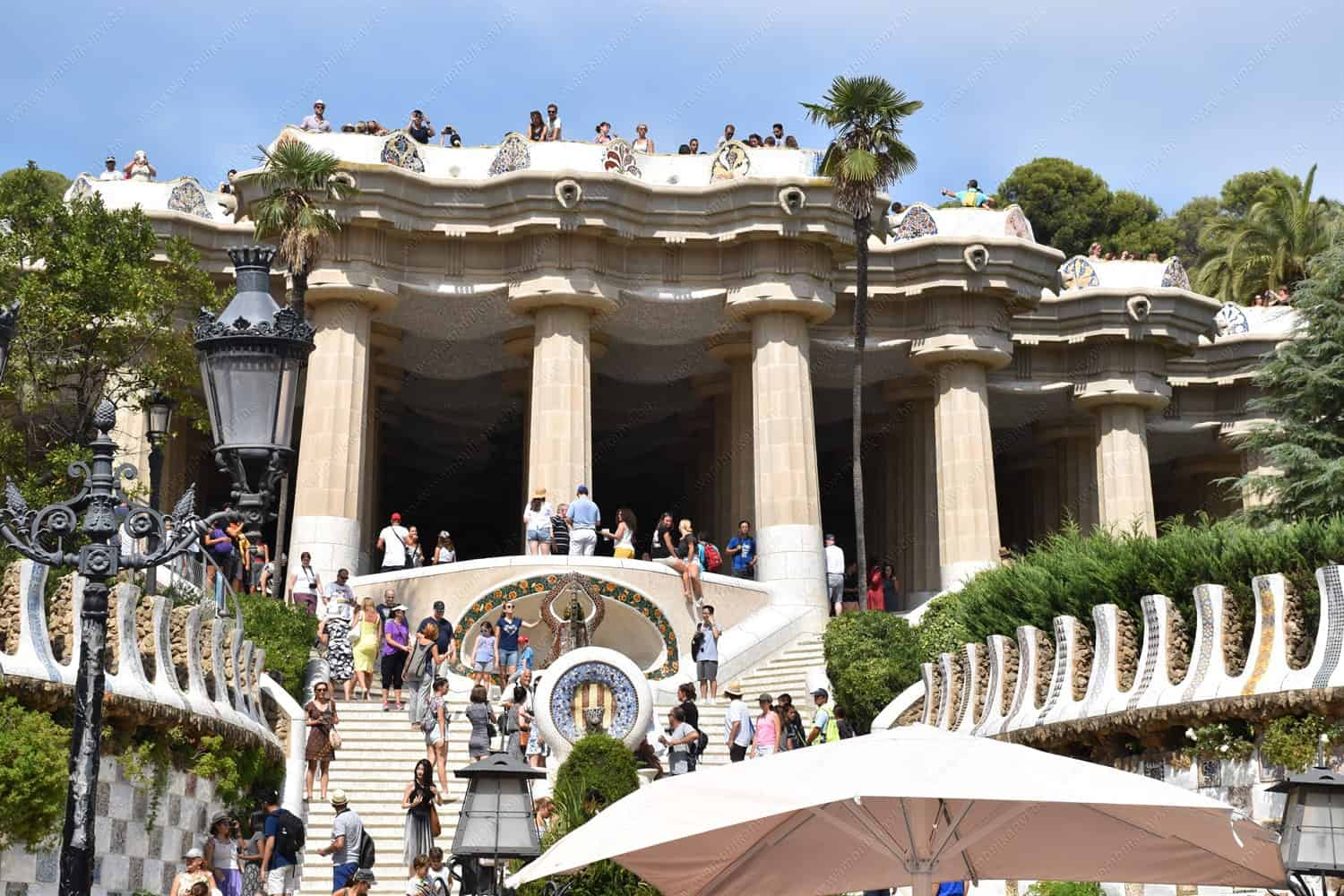 The Spectacular Park Güell In Barcelona