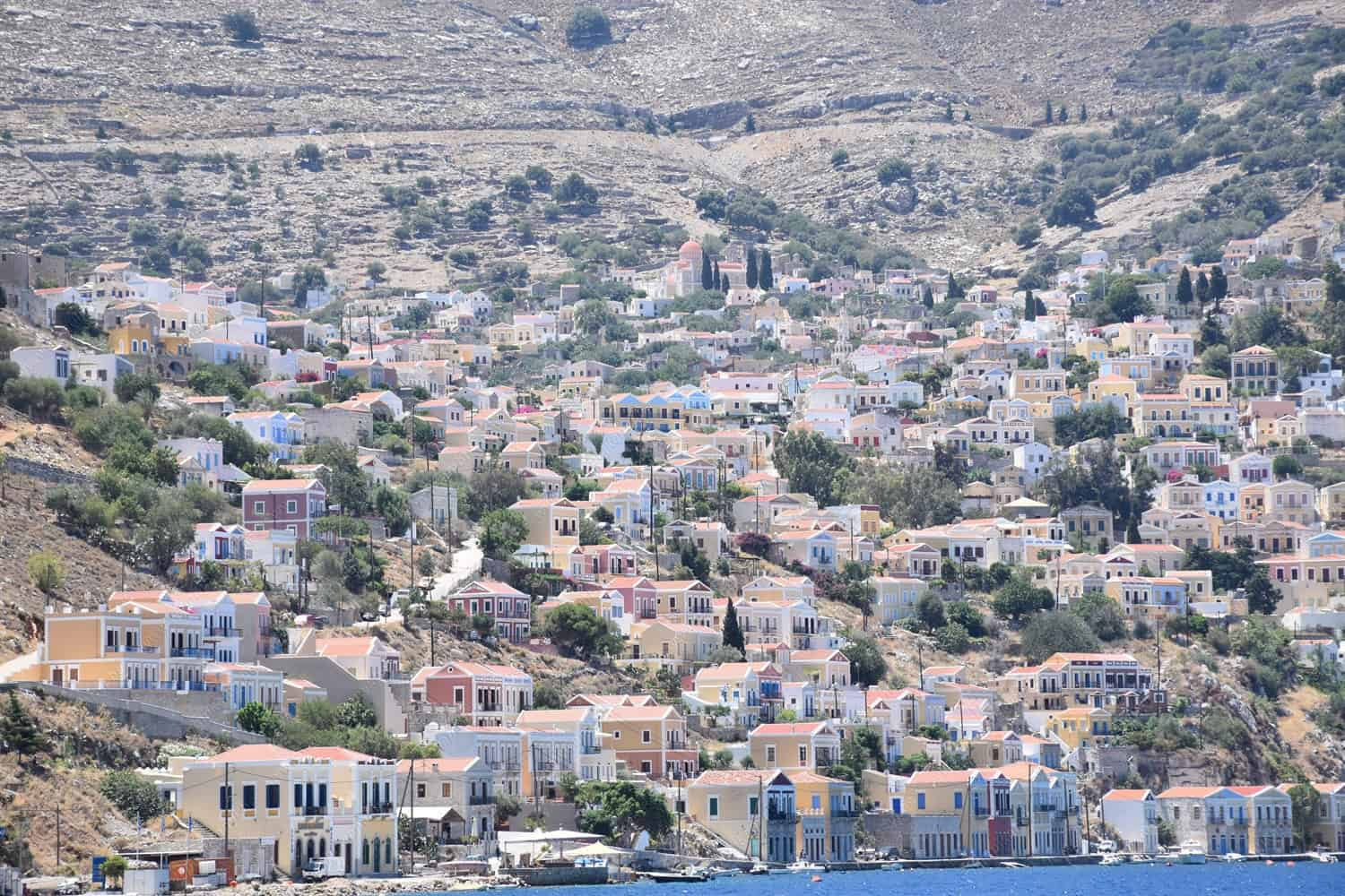 Boat Cruise in Symi Island