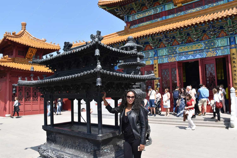 Chinese Garden in Pairi Daiza