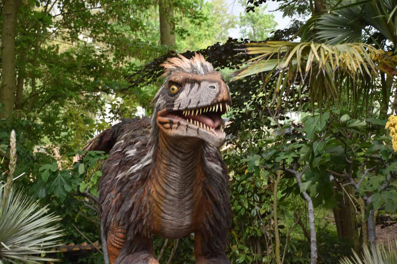 dinosaurs from Pairi Daiza