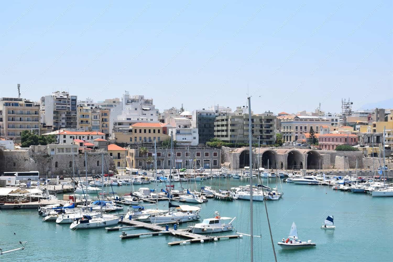 Venetian harbour of Heraklion