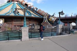 The Discoveryland in Disneyland Paris