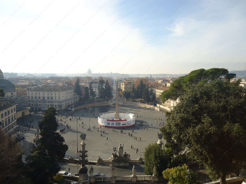 Panaromic view of Rome