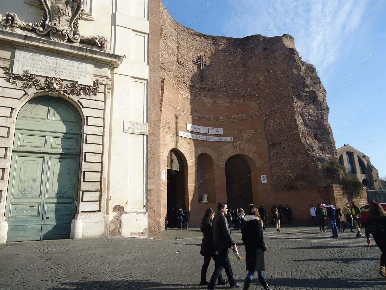 Santa Maria Degli Angeli in Rome