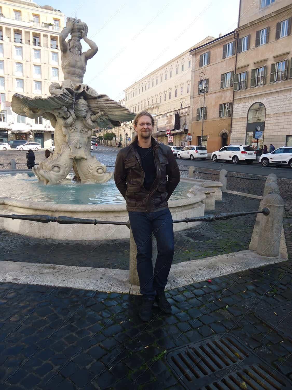 A Fountain in Rome