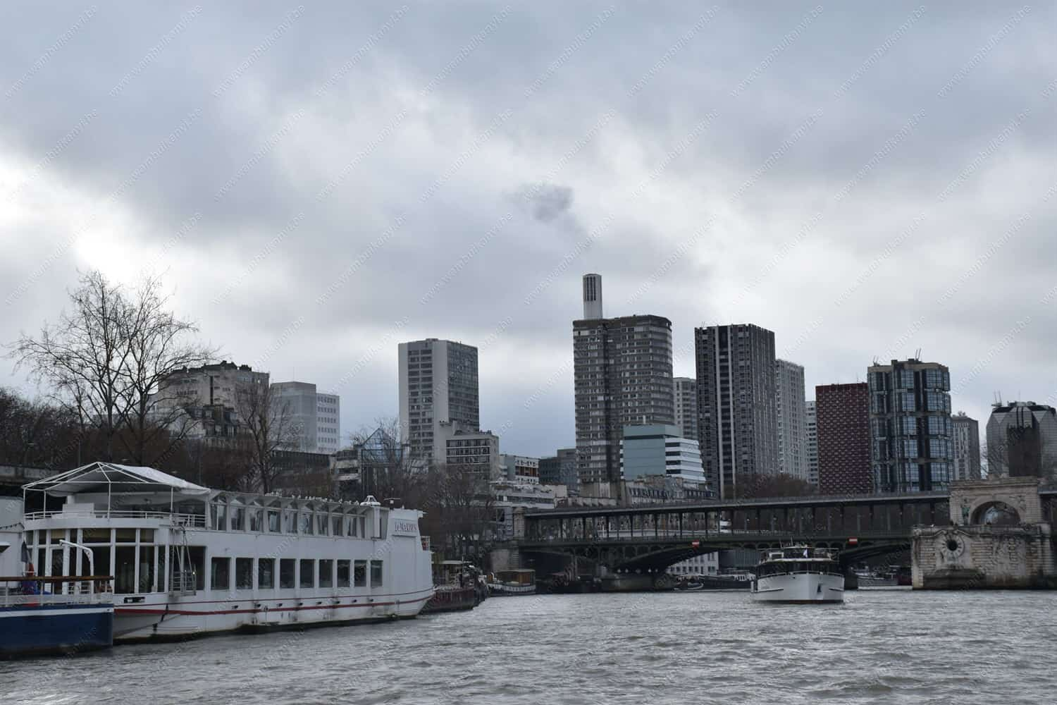 A Cruise Along The Seine River