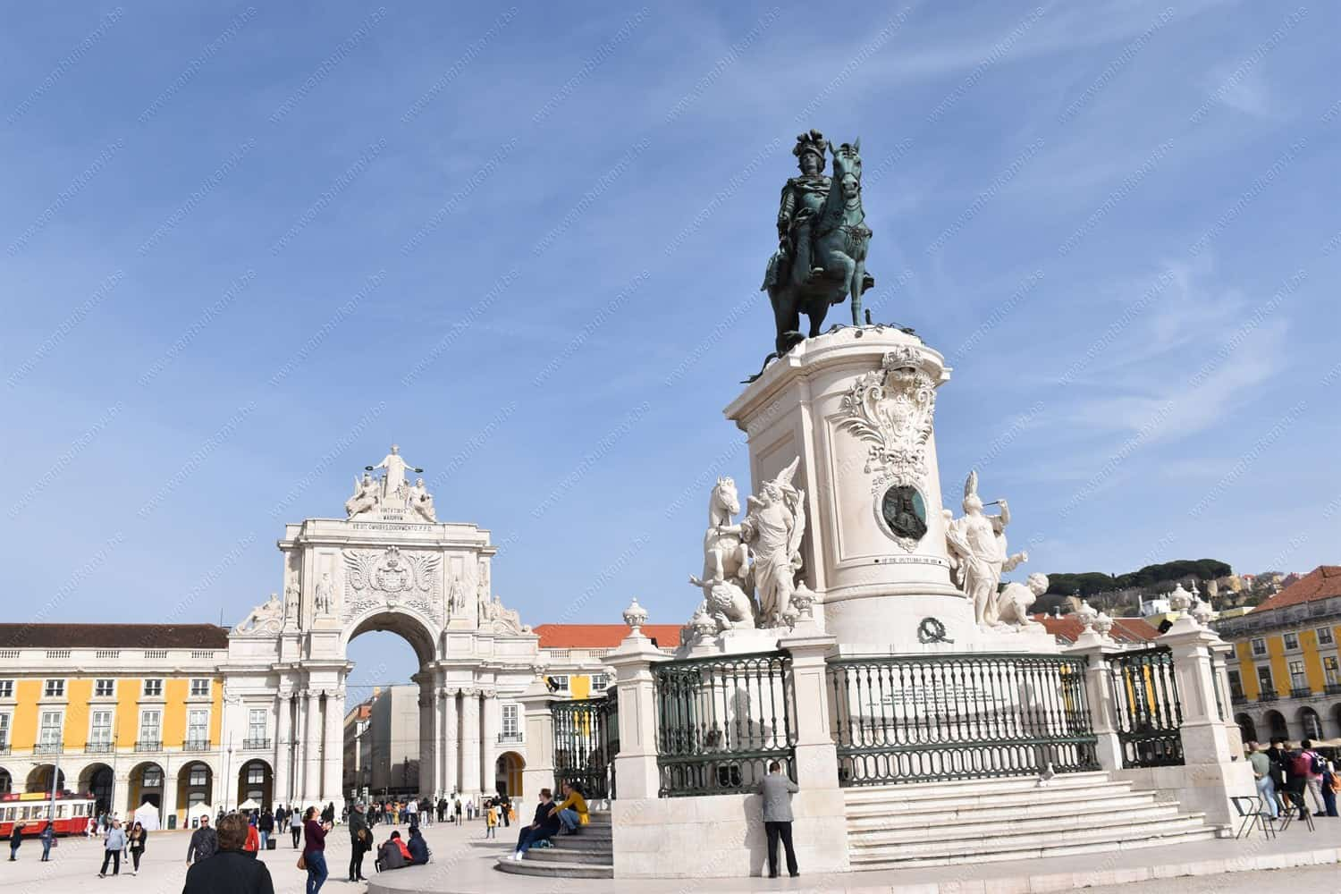 The Top Attractions in Baixa Area in Lisbon