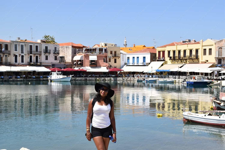 Rethymno Crete Island