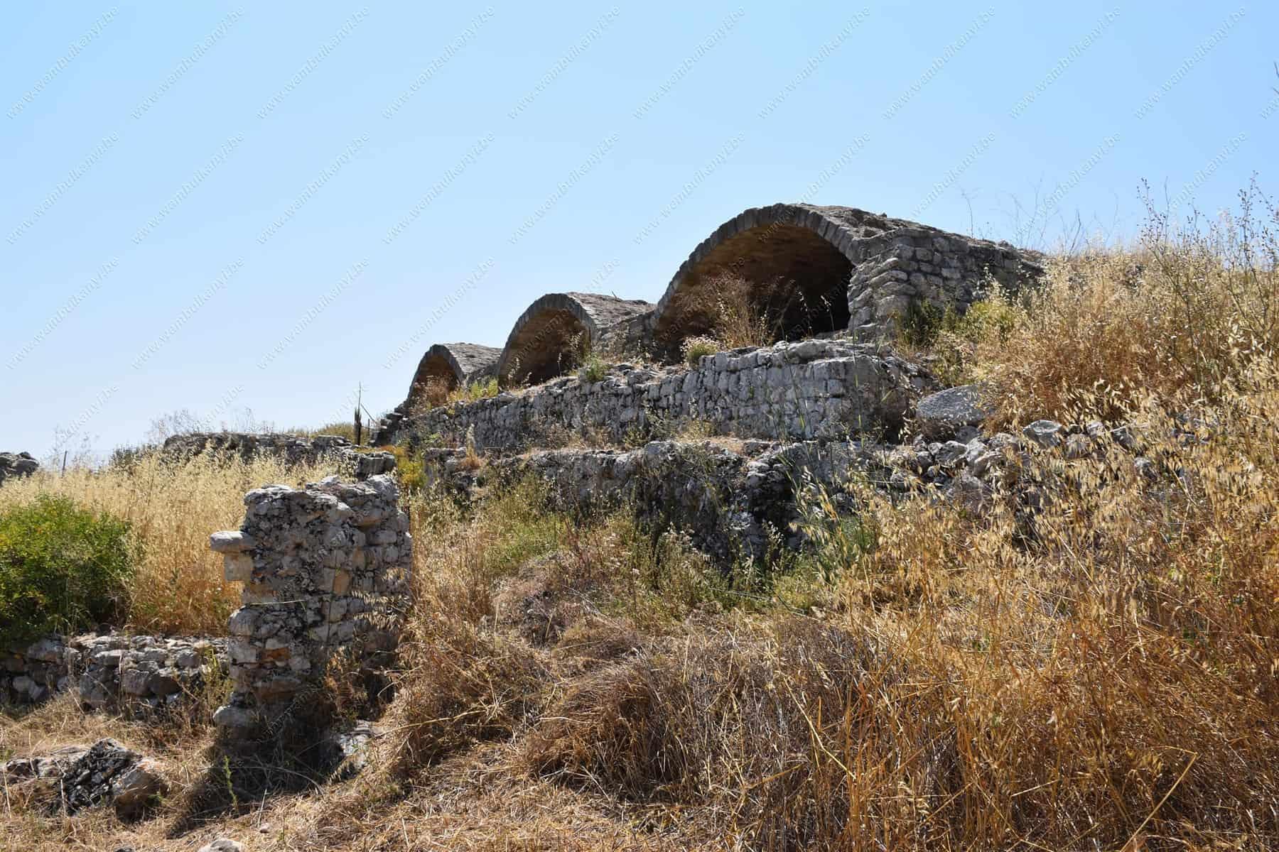 bath ruins in Crete Island