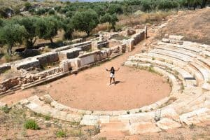 The Experience From The Ancient Aptera of Crete
