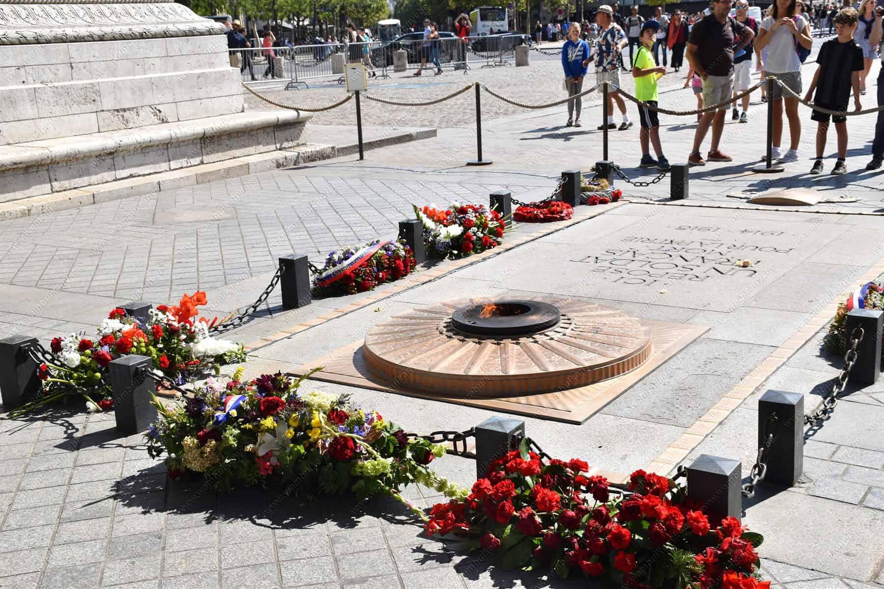 Eternal Flame in Paris