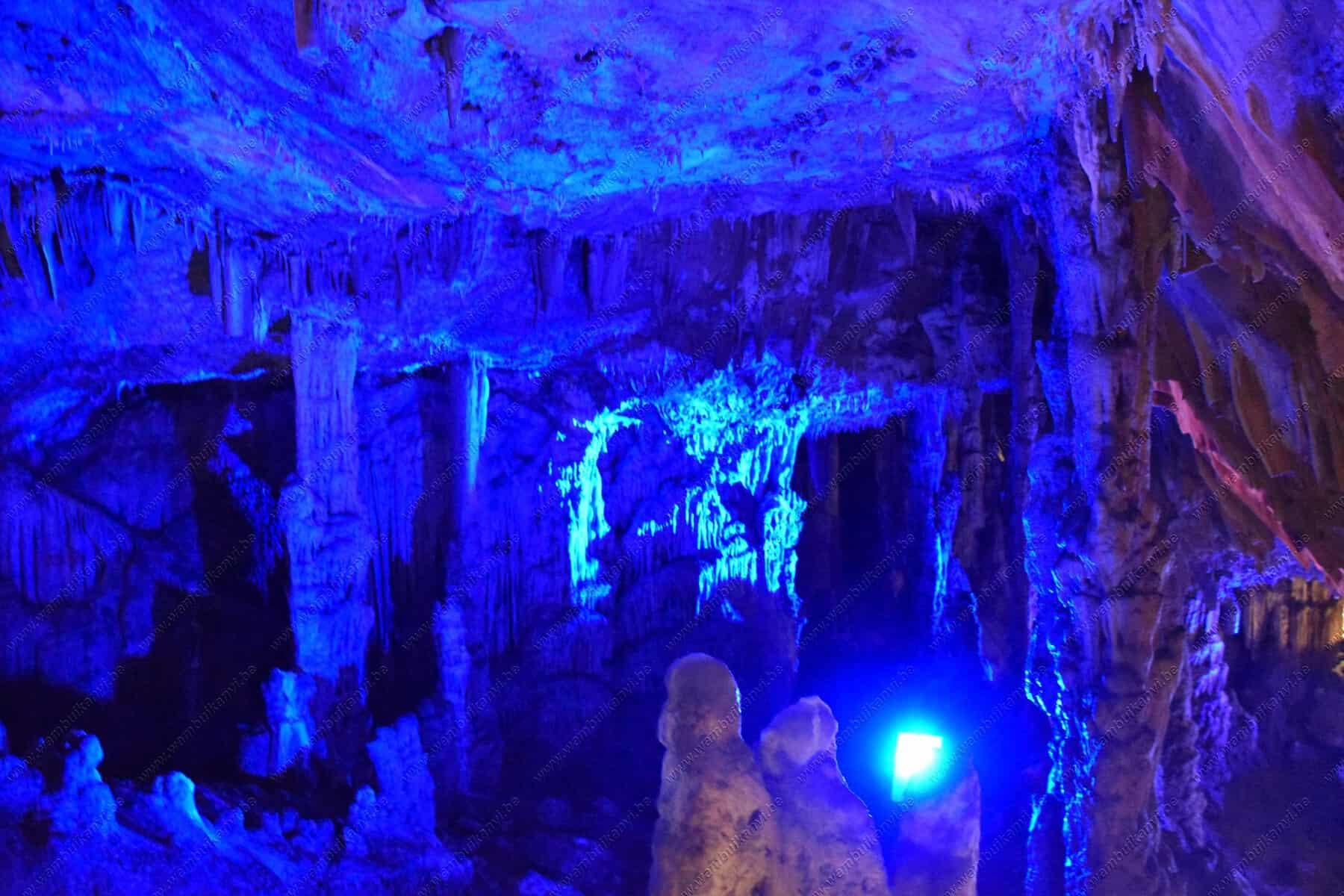 Cave in Crete Island