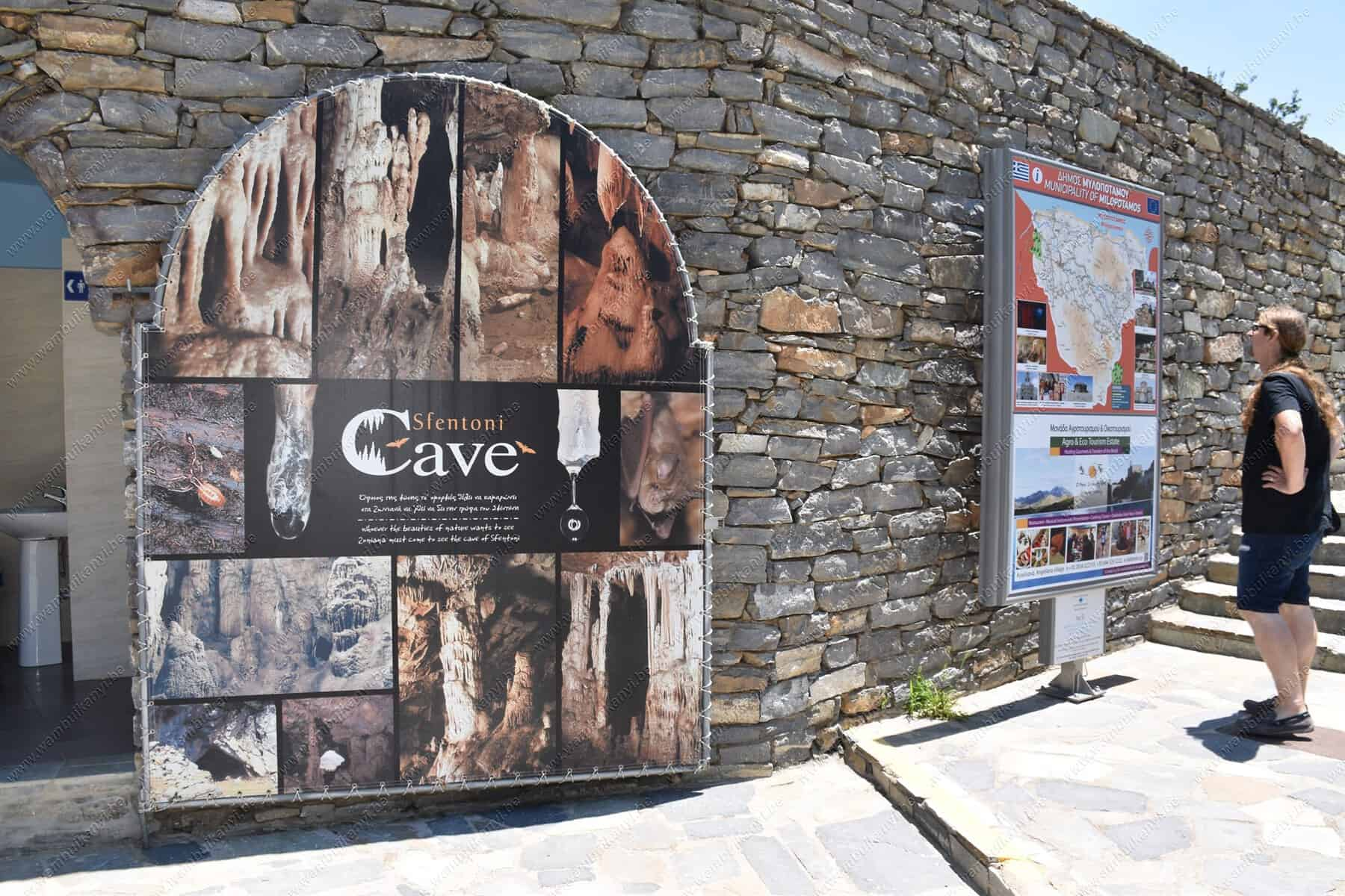 The Experience From Sfentoni Cave Crete Island