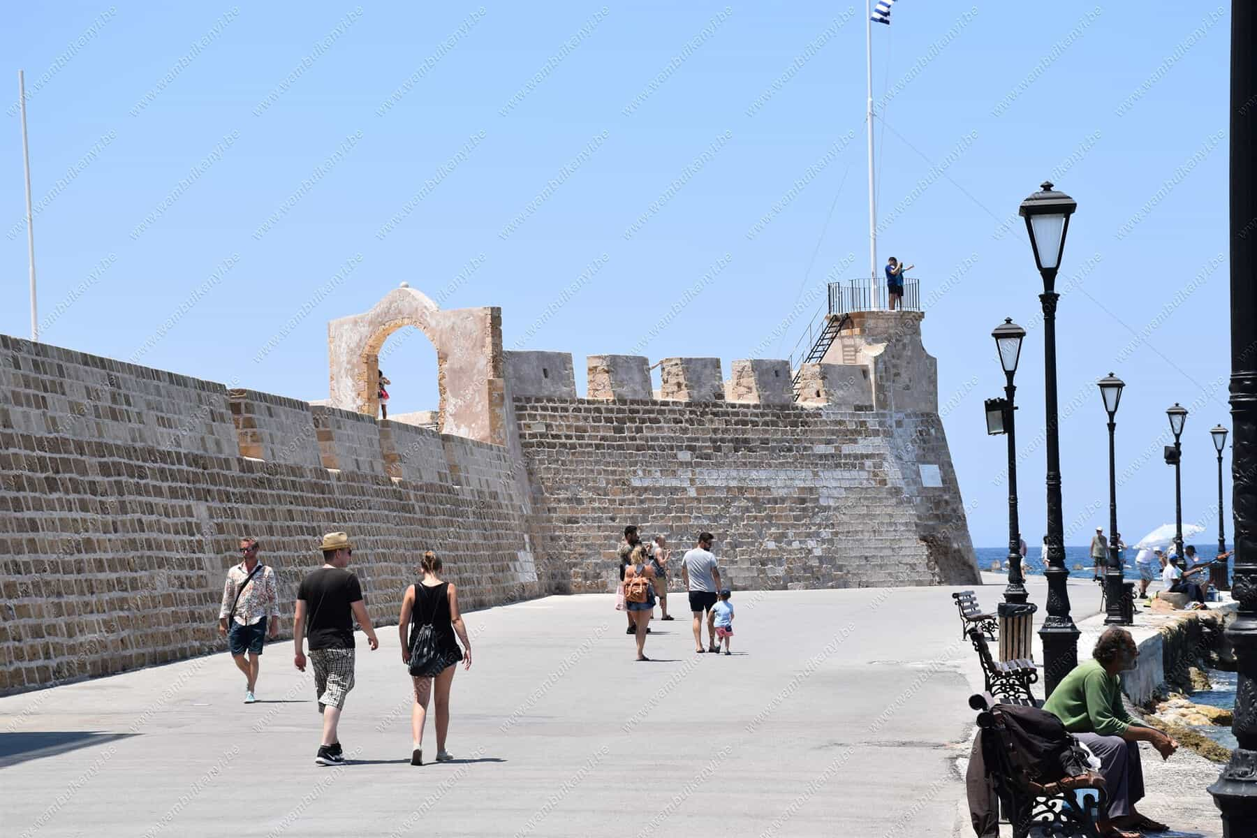 Old Venetian Harbour in Chania