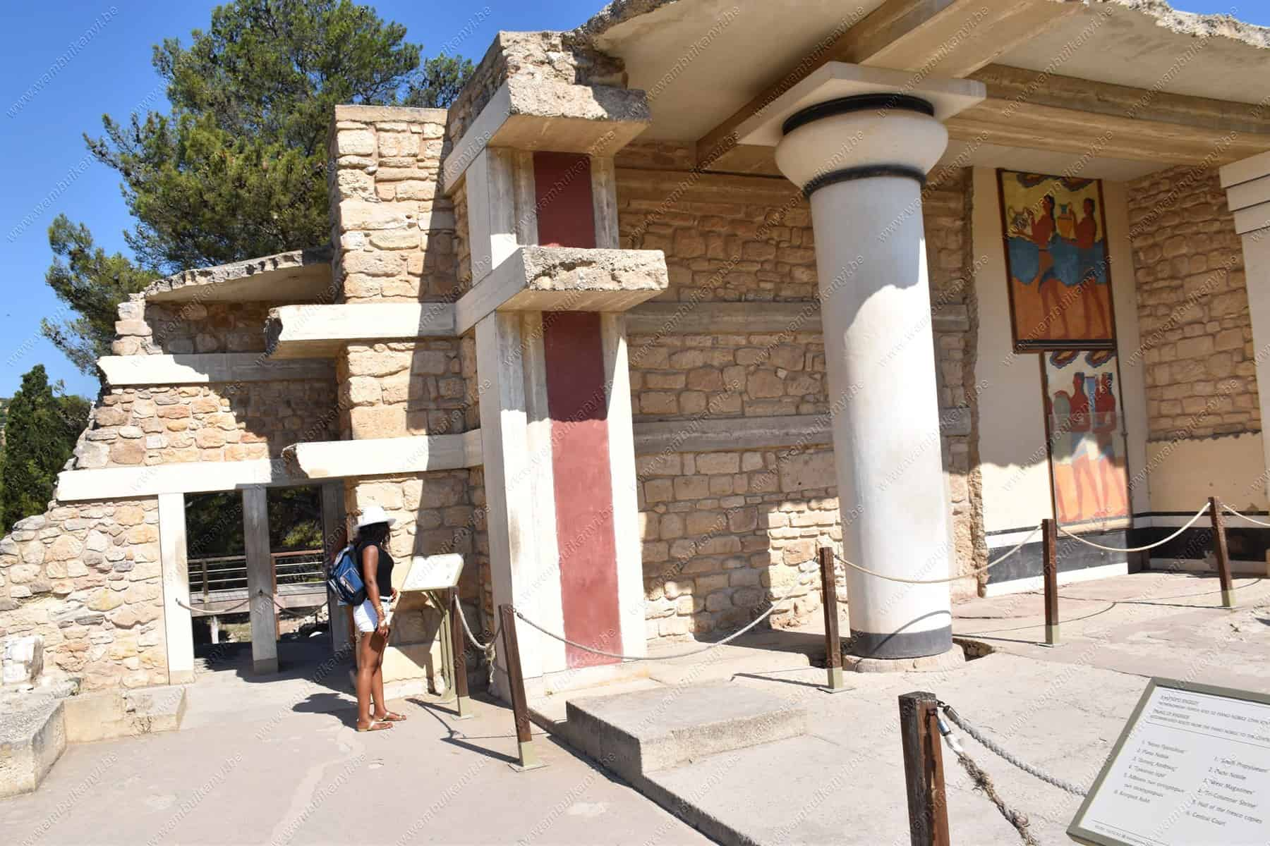 The Experience From The Palace Of Knossos, Crete