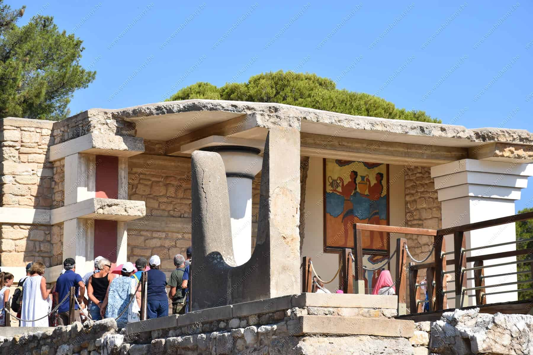 Palace of Knossos Crete Island