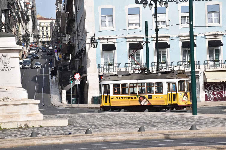 The Number 28 Lisbon Tram