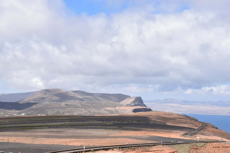 Lanzarote Island from the  Mirador del Rio