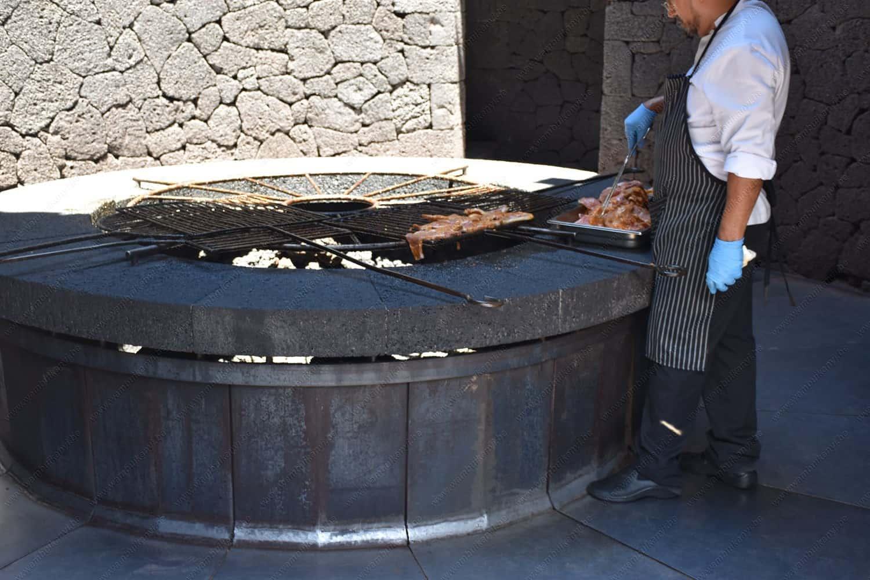 El Diablo Restaurant in Timanfaya National Park  Lanzarote