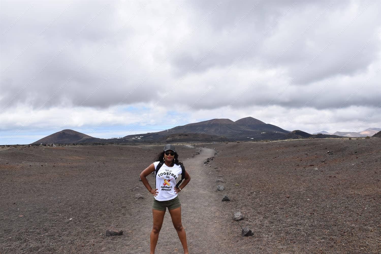 Volcan el Cuervo Lanzarote