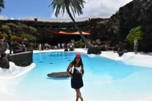 The Jameos del Agua in Lanzarote