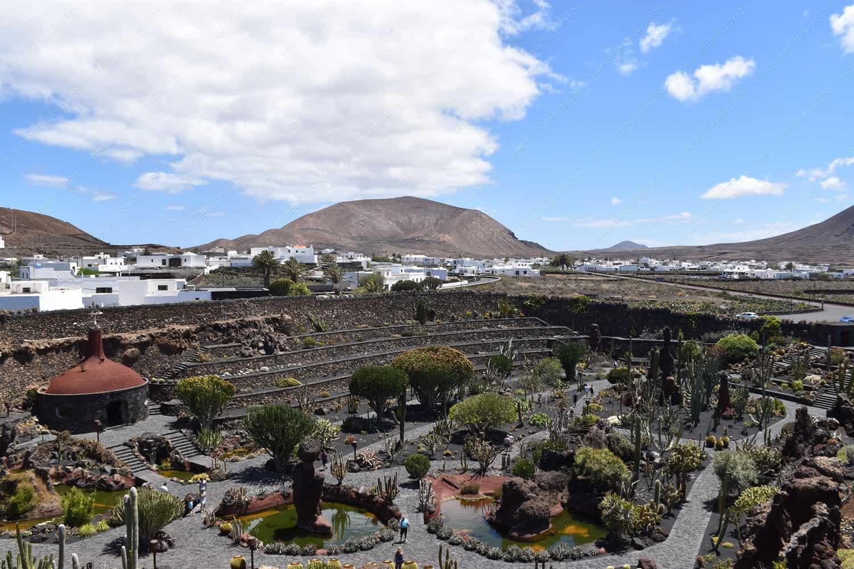 Jardines de Cactus, Lanzarote