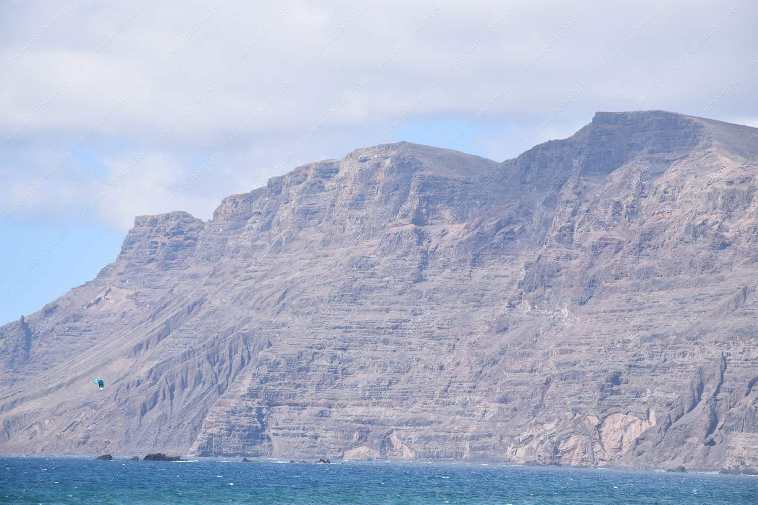 The cliffs of the Famara